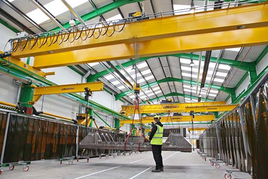 travelling overhead crane explosion proof