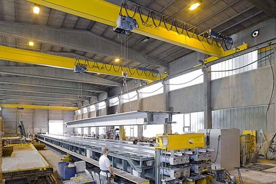overhead crane of 3 tons