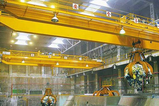 Electric Grab Overhead Crane