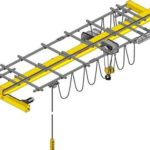Cheap single beam overhead crane for sale