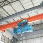 Warehouse single girder low headroom overhead crane