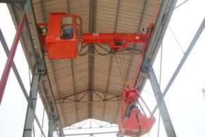 electric single girder metallurgy overhead crane
