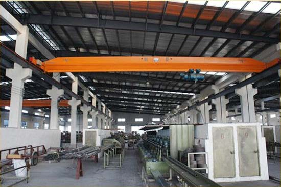 warehouse electric single girder overhead crane
