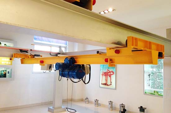 electric single girder overhead crane for sale