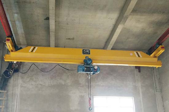 high quality single beam overhead crane