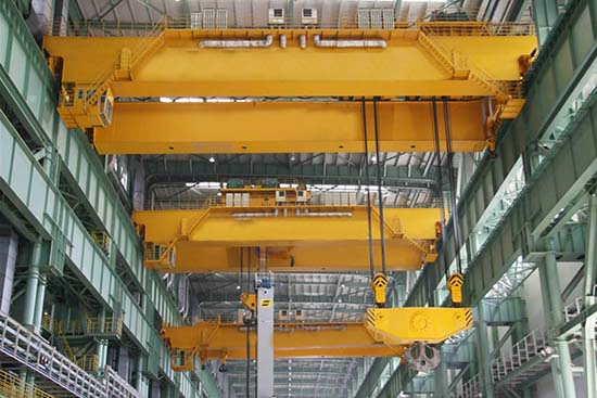 explosion proof double girders overhead crane