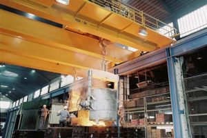 casting overhead crane for sale