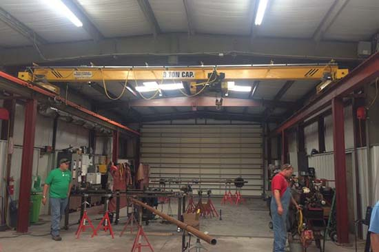 single girder overhead crane sale