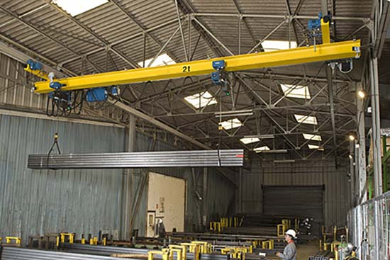 suspension overhead crane for sale