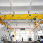 High quality single beam overhead crane for sale